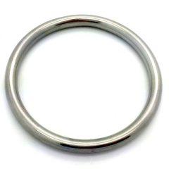 Ring aus rostfreiem Stahl zur Befestigung der Hundeleine
